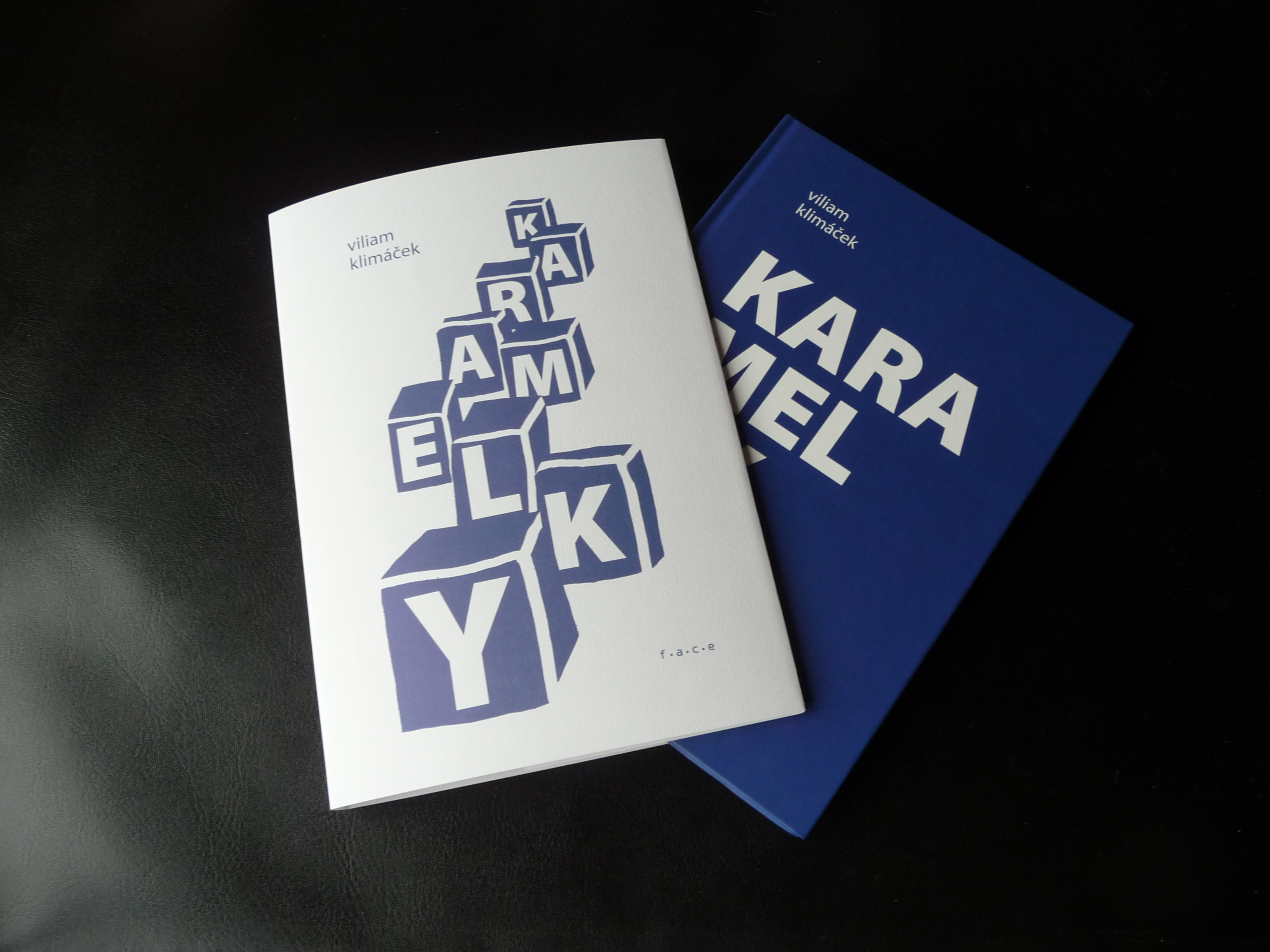 Viliam Klimáček Karamelky, redesign of Aleš Votava layout, 1993-2016