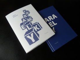 Viliam Klimáček: Karamelky, redesign of publication,  f.a.c.e., 2017