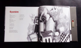 Komajota Potrubis album, layout & illustrations