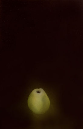 The Aura of Diminishing, 40 x 60 cm, oil on canvas, 1995