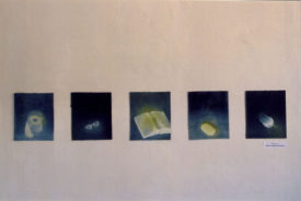 Installation view, The Aura of Diminishing, 1995