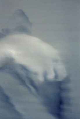 The Aura of Diminishing, 60 x 80 cm, oil on wood, 1995