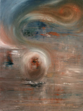 The Fractals, 80 x 10 cm, oil on canvas, 199