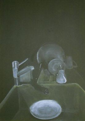 Home Edition, acrylic on canvas, 80 x 100 cm, 2008