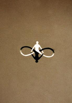 Infinity I, oil on cardboard, 70 x 100 cm, 1995