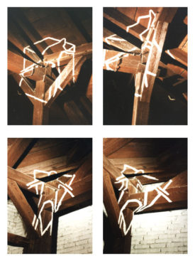 The Point of View, spatial painting, 1996
