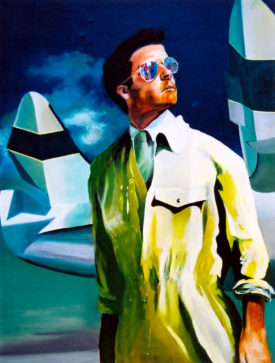 The Action Painting, acrylic on canvas, 120 x 160 cm, 2001