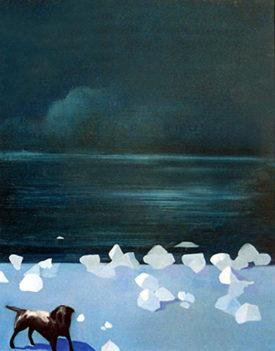The Secret Lives, 50 x 60 cm, oil on canvas, 1996