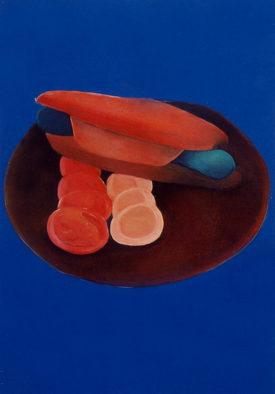 The Secret Lives, 40 x 50 cm, oil on canvas, 1995