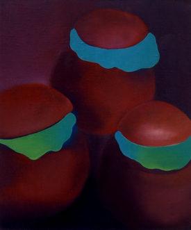 The Secret Lives, 50 x 60 cm, oil on canvas, 1995