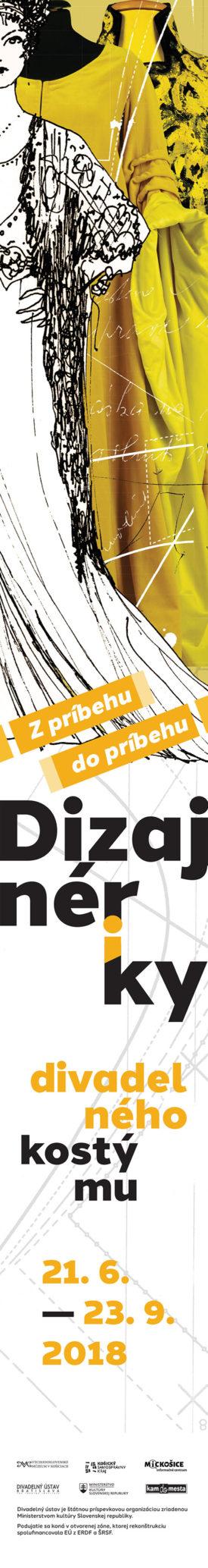 Theatre Institute Bratislava, Designers of Theatre Costume exhibition, baner
