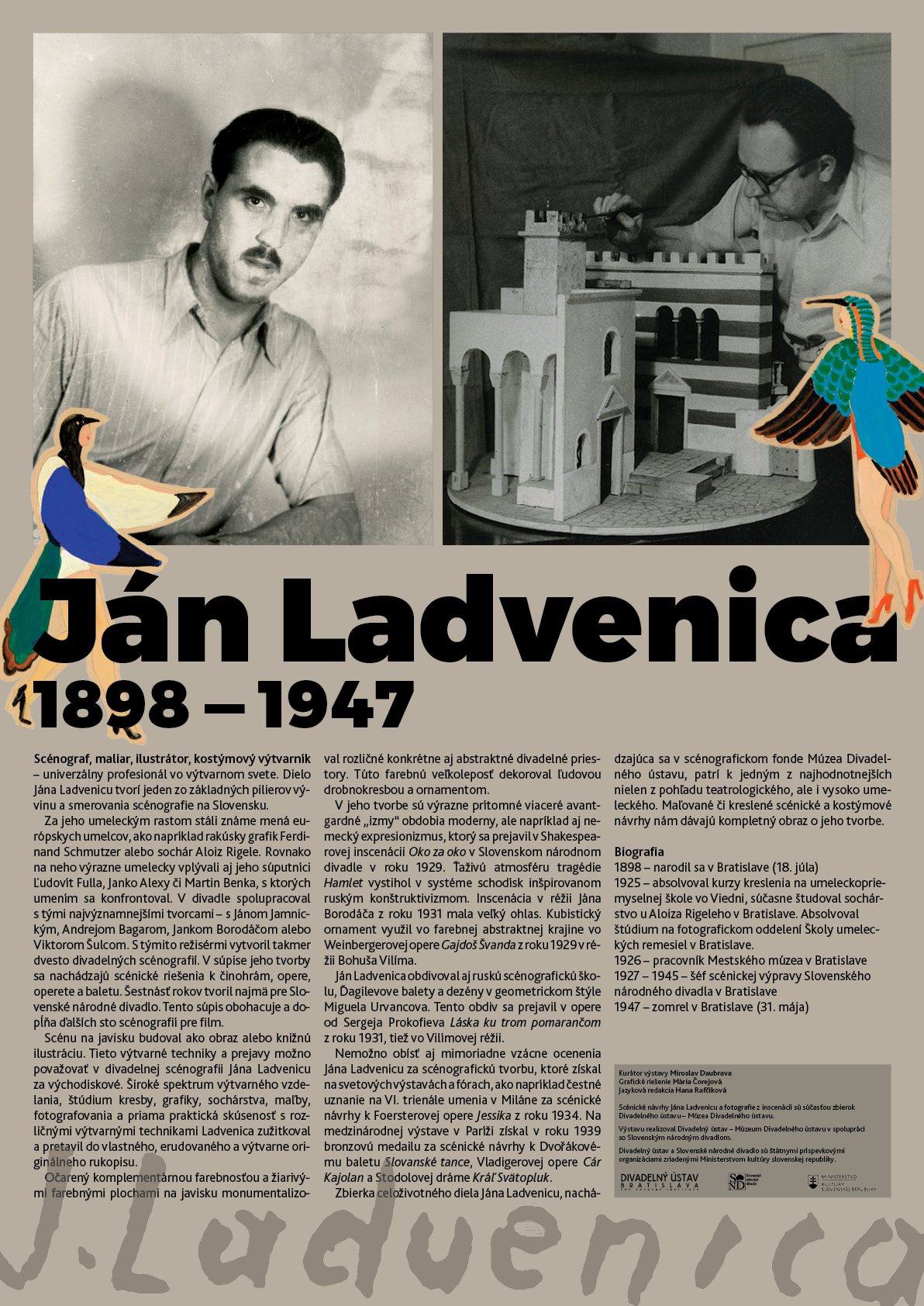 Exhibition Ján Ladvenica, 2018