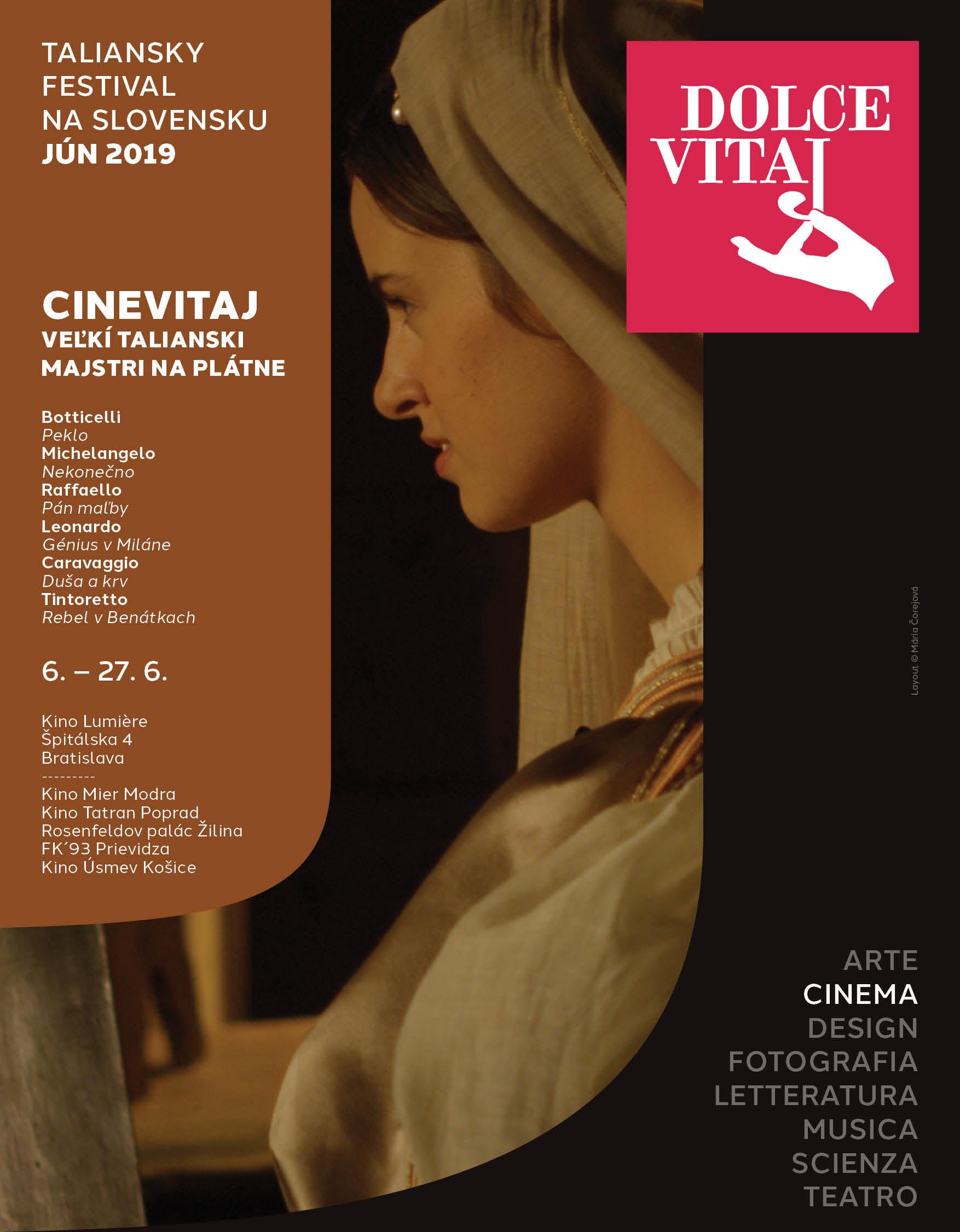 Dolce vitaj 2019 visual CINEVITAJ