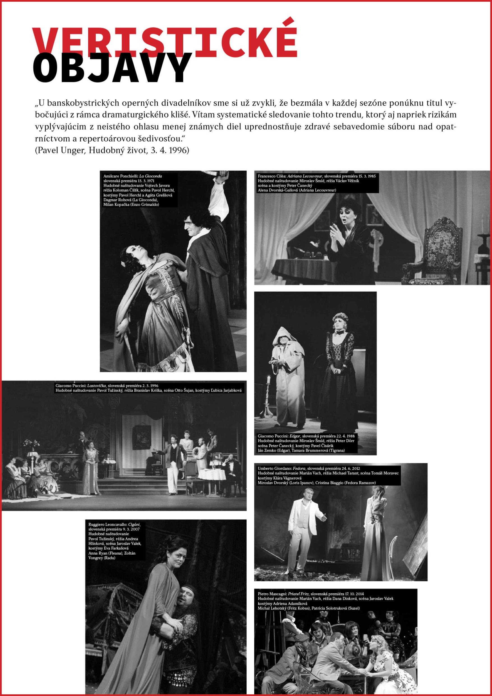 Exhibition 60 year anniversay of opera in Banská Bystrica, 2019