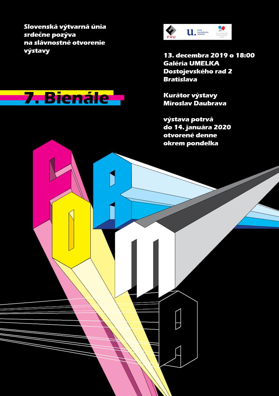 Bienial Forma 2020, visual