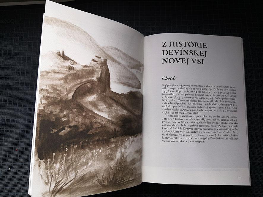 Devinska kedysi, Slovak-Croatian publication, illustrations Miriam Šebianová