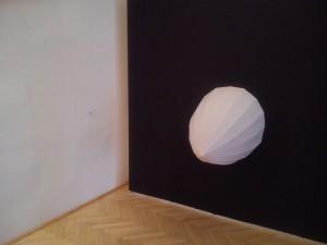 Argument (paper model, textille), realisation and cooperation: Miriam Šebianová