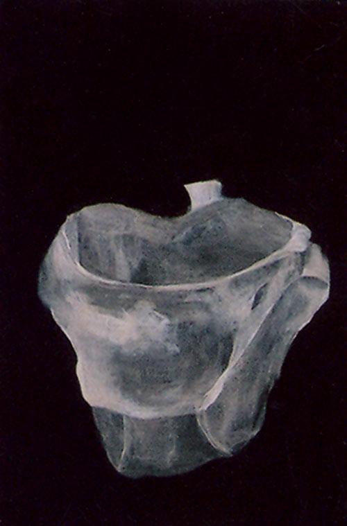 The Aura of Diminishing - Icons, 20 x 30 cm, acrylic on wood, 2001