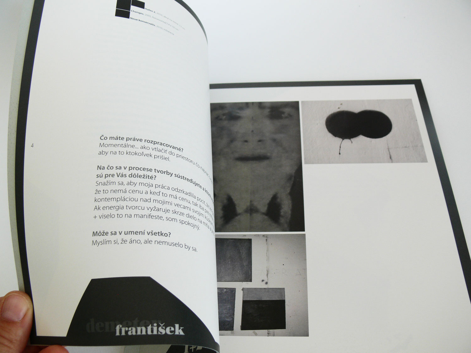 Exhibition 1+2+3+4-10 exhibition catalogue, 2011