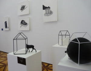 Exhibition Standing Waters, 2017, objects: Miriam Šebianová