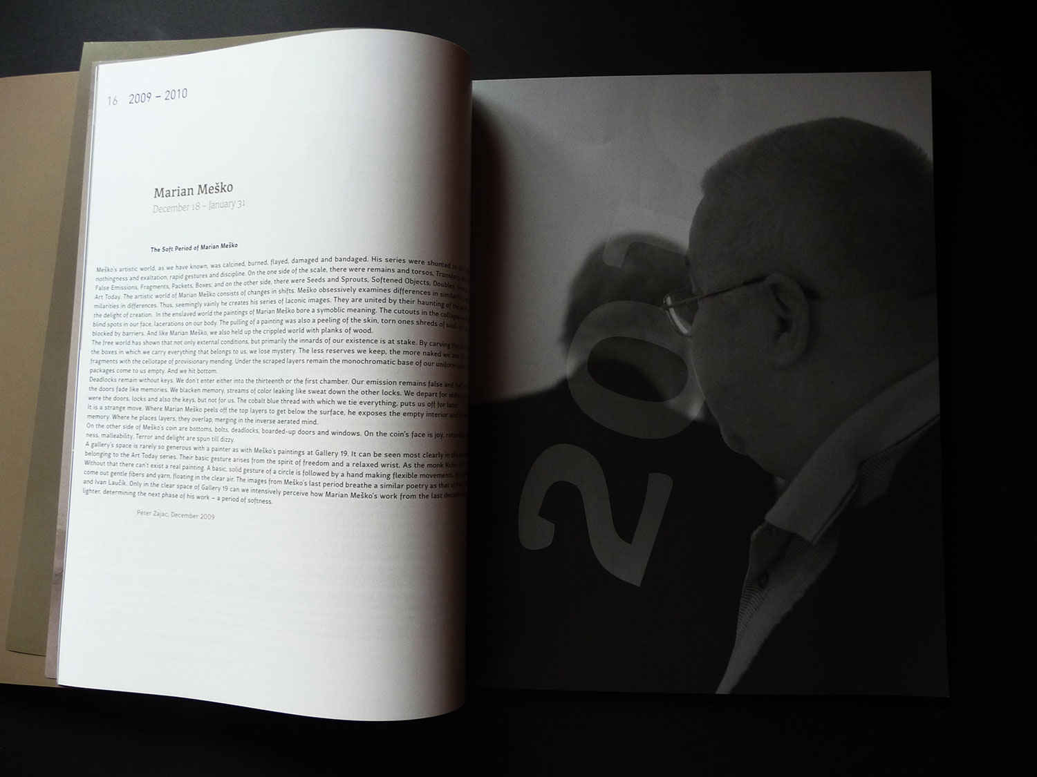 Gallery 19, annual catalogue, 2009-2014