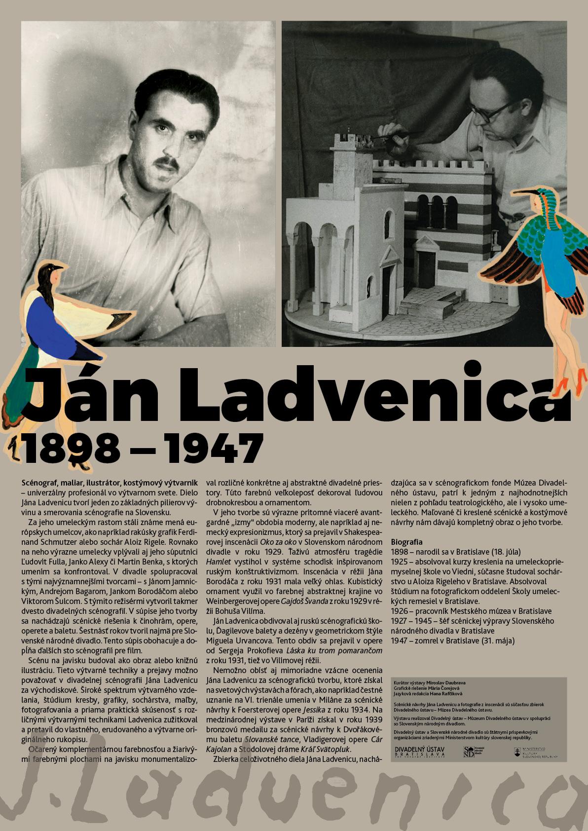 Exhibition Ján Ladvenica, 2018