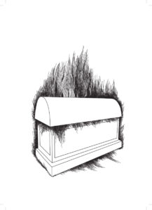Tomb, digital drawing