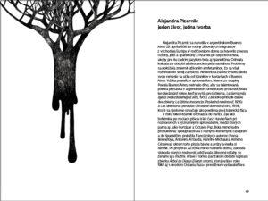 Diana`s Tree Alejandra Pizarnik, layout & illustrations, 2020