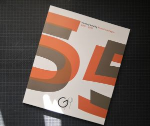 Gallery 19, annual catalogue, 2014-2019