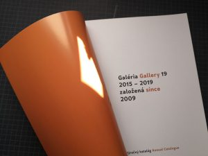 Gallery 19, annual catalogue, 2015-2019