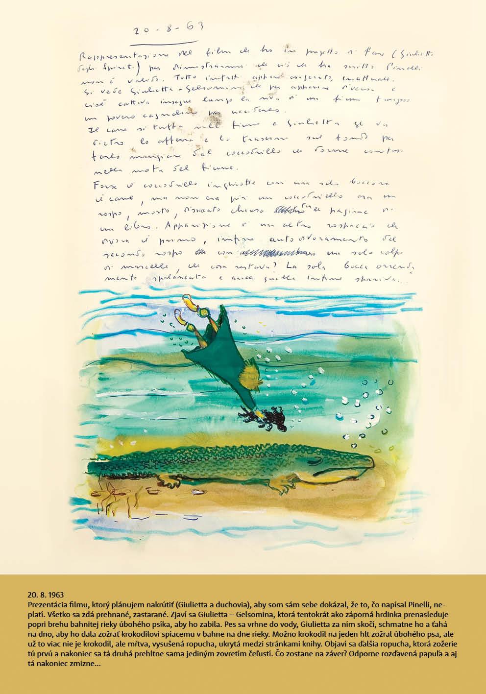 Federico Fellini Book of Dreams, exhibition posters, Cinema Lumiere, Bratislava, 2020