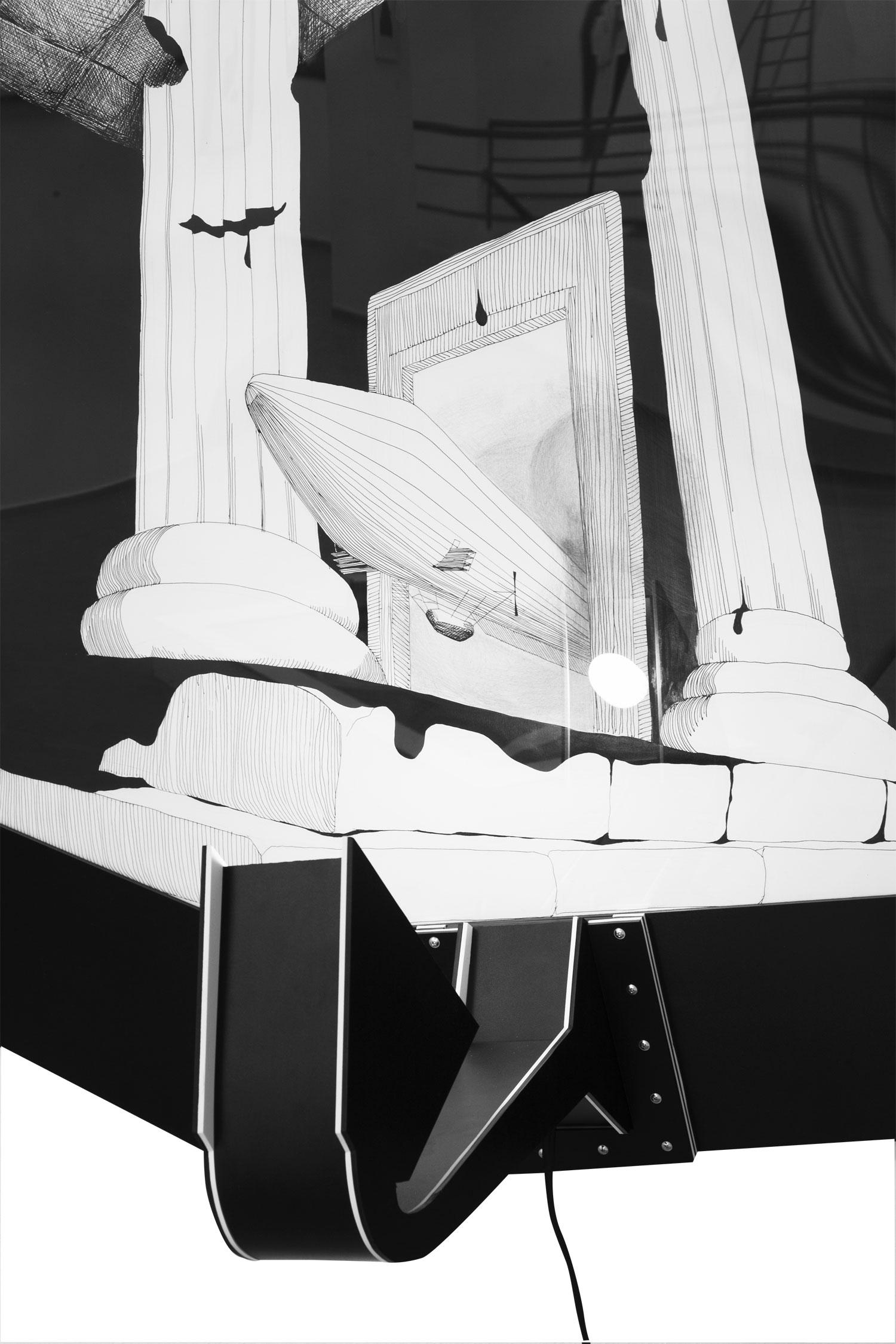 The Biggest Gift - detail, frame design Sylvia Jokelová