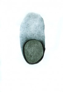 Archetype, charcoal, pencil on paper, 1996_6