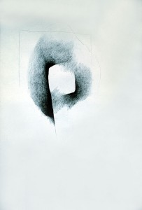Archetype, charcoal, pencil on paper, 1996_8