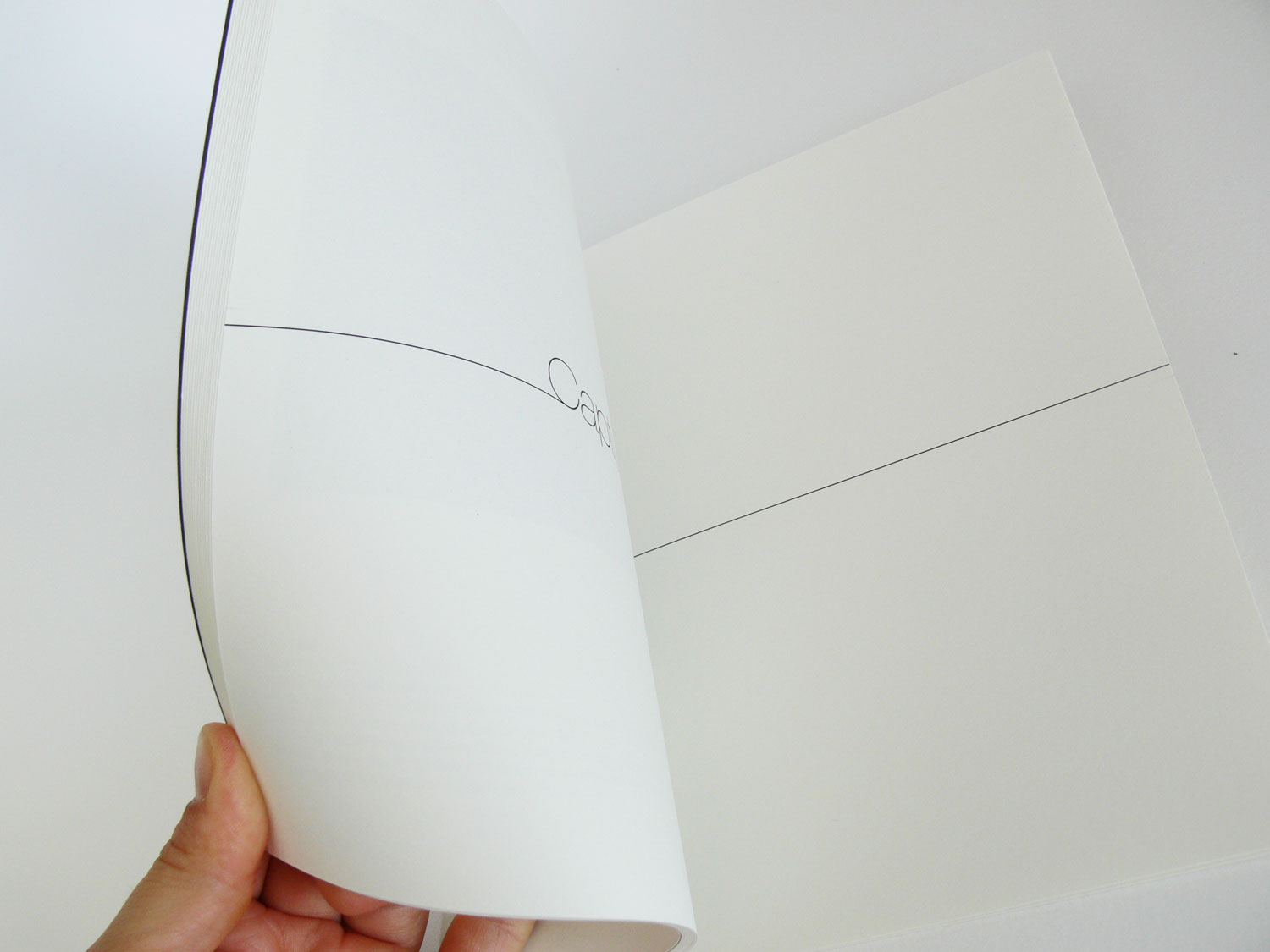Exhibition Capture catalogue, 2011