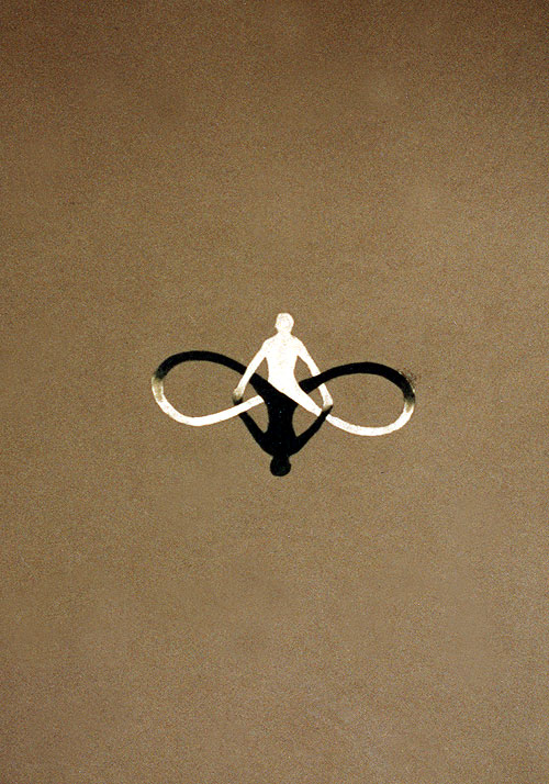 Infinity_oil on paper, 1998_2