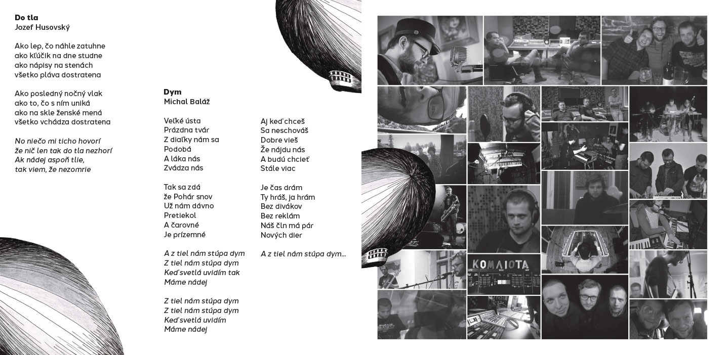 Second Sun, CD&booklet layout, 2016