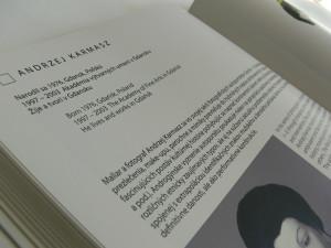 Exhibition Autopoesis catalogue, 2006