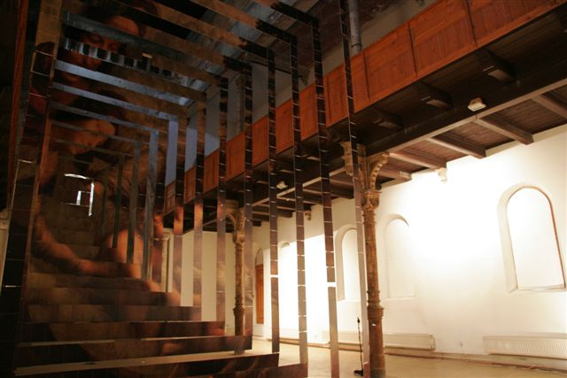 The Point of View, installation for Centre for Contemporary Arts, Synagogue Trnava, 2006