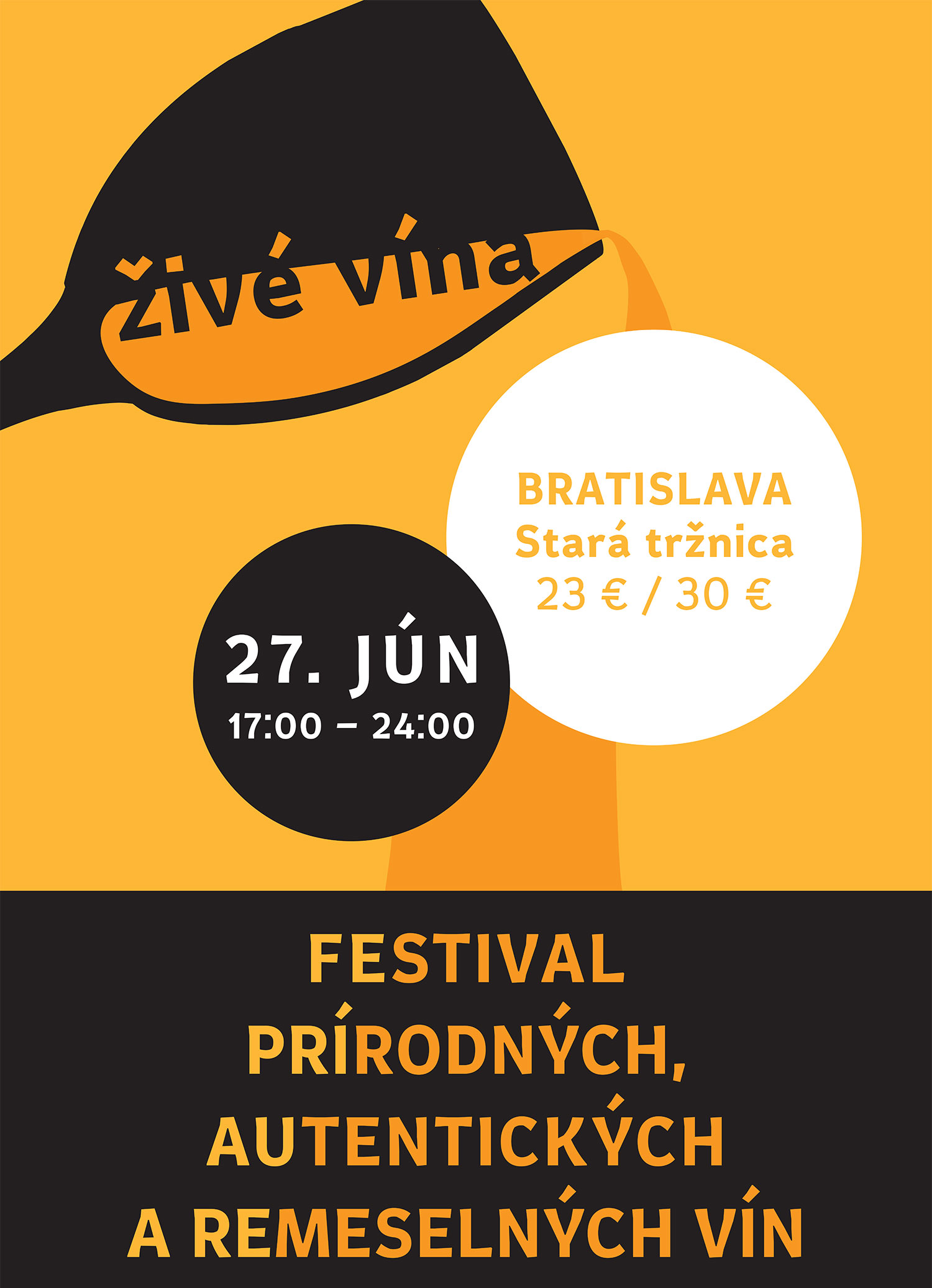 Festival of Authentic Wines visual, 2015